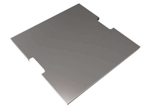 Bilde av Rostfritt stål lock för kvadratiska brännar